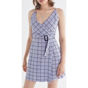 Urban Outfitters Purple Plaid Dress